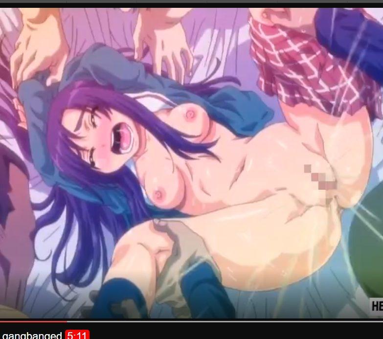 メチャシコアニメ!!お金が欲しいJKを外人が犯す!!制服からちっぱいまろびでて濃厚DICK中出し!!